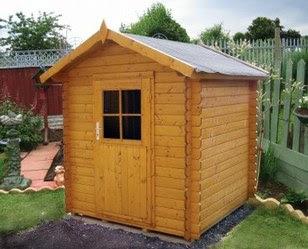 Jardinitis casas de madera cobertizos for Casas con cobertizos