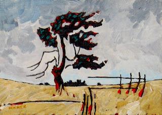 prairie landscape | contemporary art
