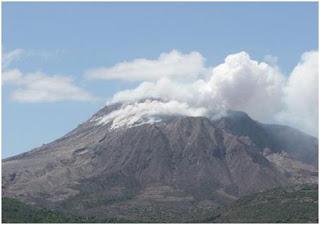 Soufrière Hills Karibia