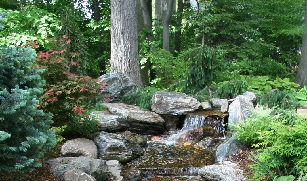 Put 39 s ponds gardens pondless waterfalls ideas for Putting in a pond