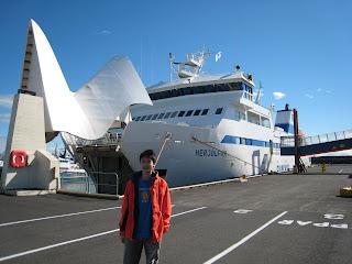 Ship to Vestmannaeyjar
