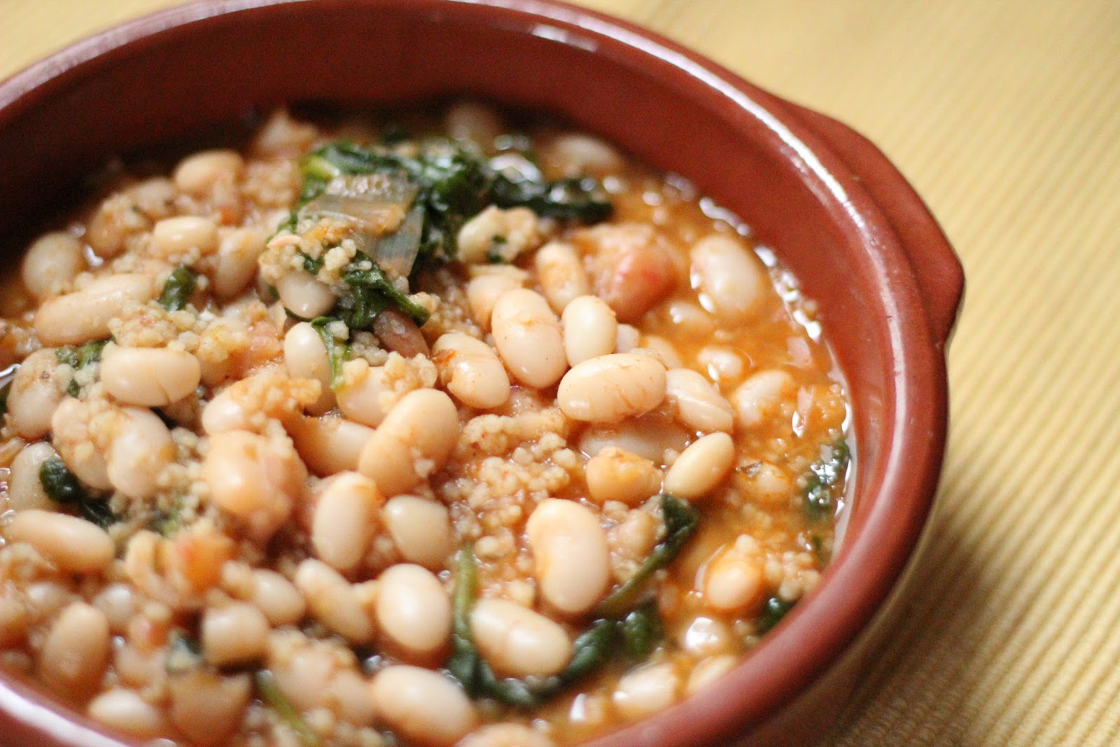 White Bean Soup with Spinach and Leeks | Eat Good 4 Life