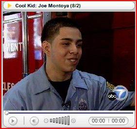LAFD Cool Kid Joe Montoya. Click to learn more...
