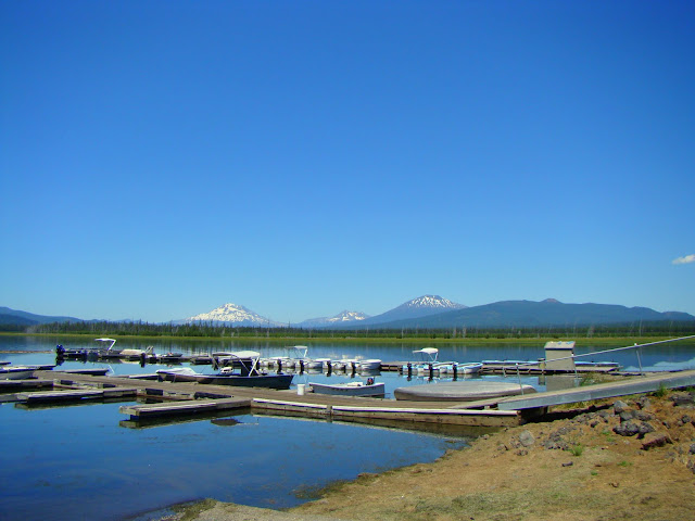 Central Oregon North Twin Lake Twin Lakes Resort And