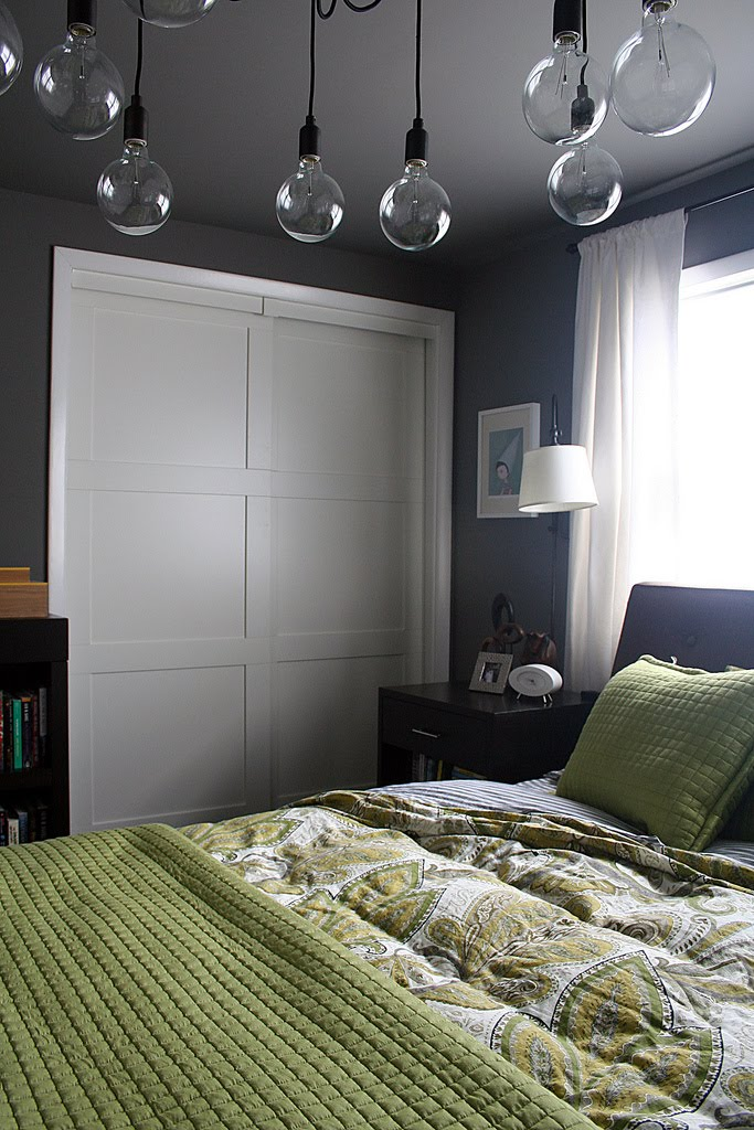 Purple House Wishlist Bedroom In Gray And Green