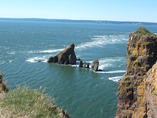 spectacular cape split, bay of fundy