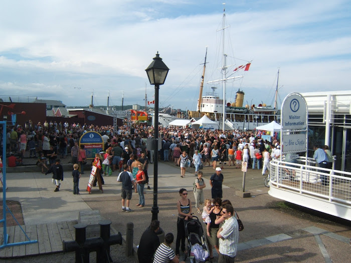 Buskers Festival - Halifax Waterfront