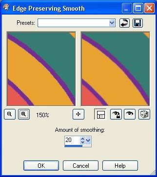 Paint Shop Pro Edge Preserving Smooth