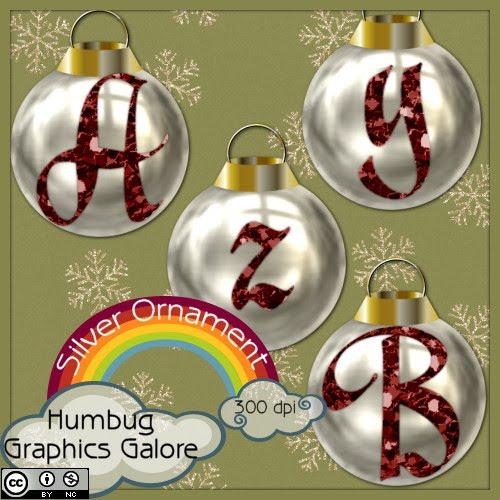 http://humbuggraphicsgalore.blogspot.com/2009/12/silver-ornament-alpha.html