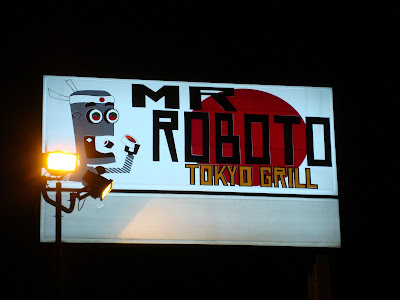 Mr. Roboto sign