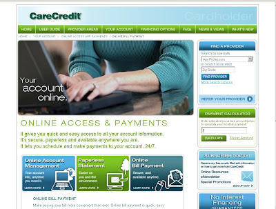 Care Credit Online Bill Payment at www.carecredit.com