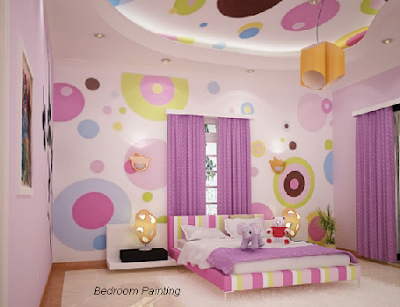 Bedroom Painting Ideas: Kids bedroom painting ideas