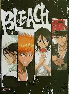 cuarto de yoruichi-sama juajuajua Poster-bleach-4-bars