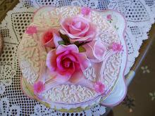 "FAUX CAKE (ROUND CAKE 6"")"