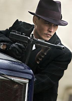 Johnny Depp é John Dillinger, Michael Mann's Public Enemies