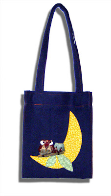 owl tote bag giusypatch
