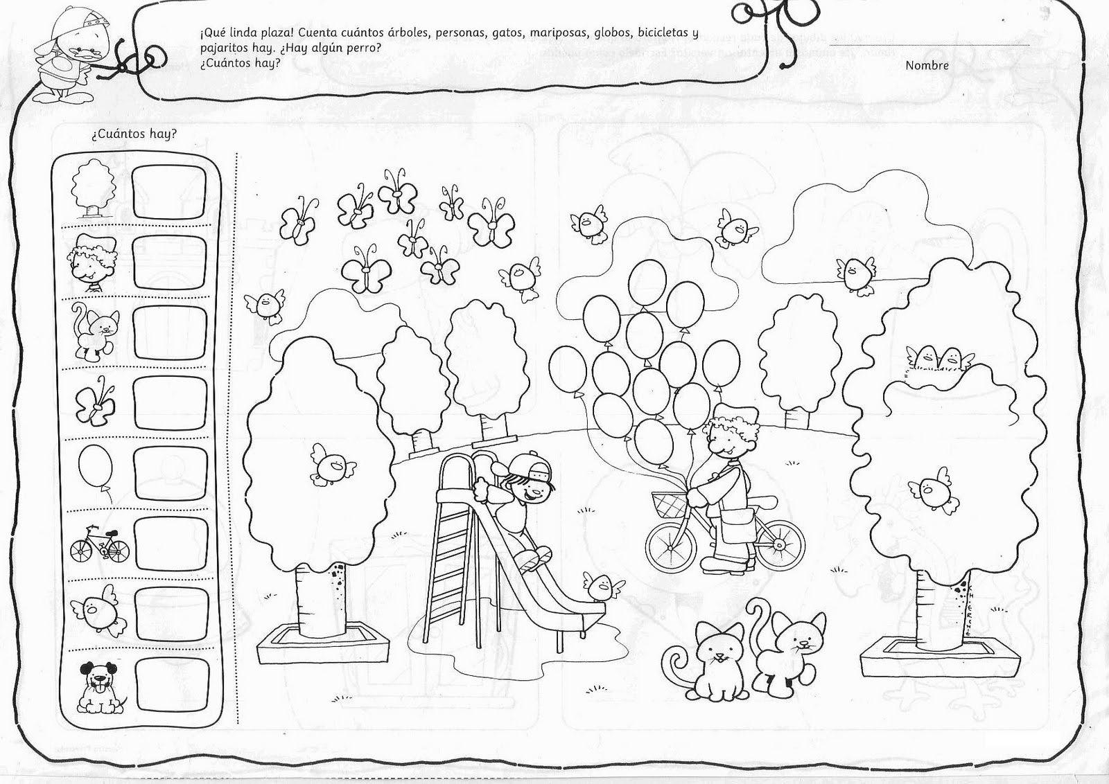 Actividades Para Ninos De Preescolar