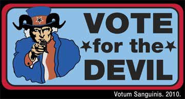 Vote For The Devil In 2012
