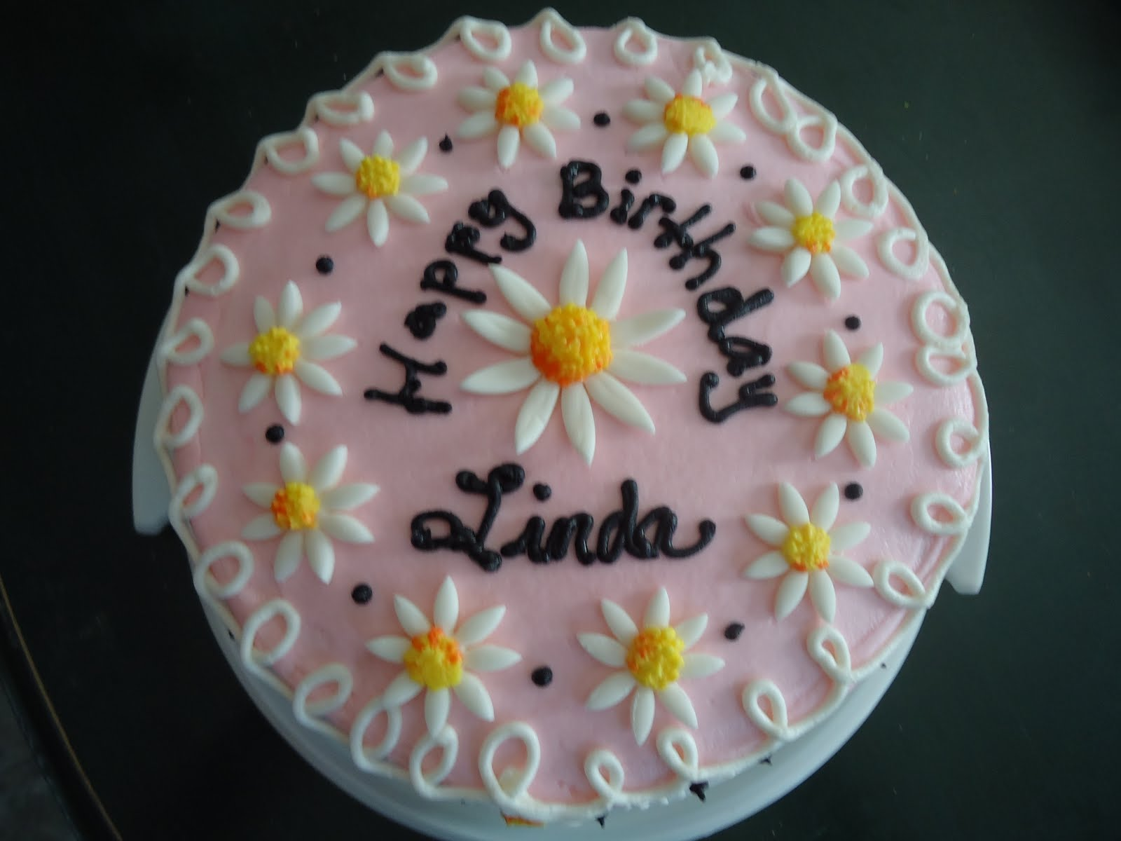 Cats Cake Creations Daisy Birthday Cake