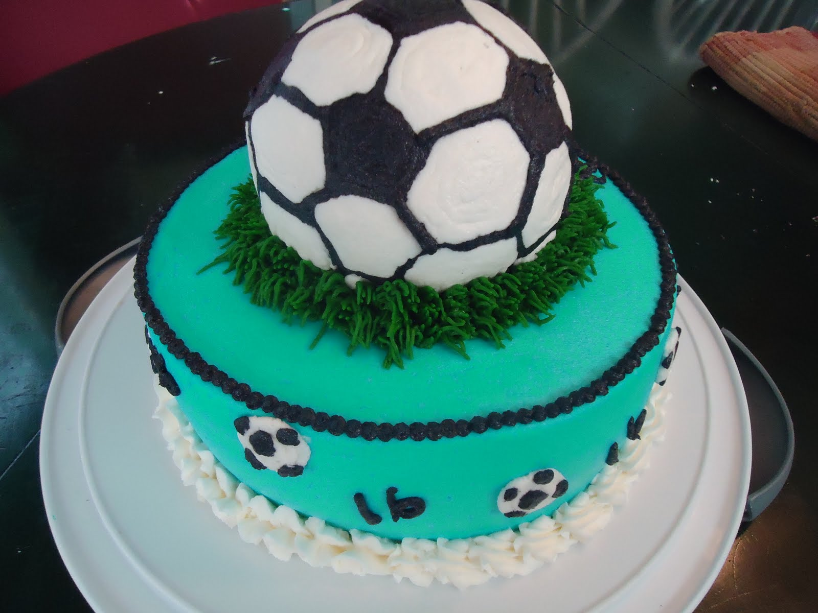 Cats Cake Creations Soccer Birthday Cake