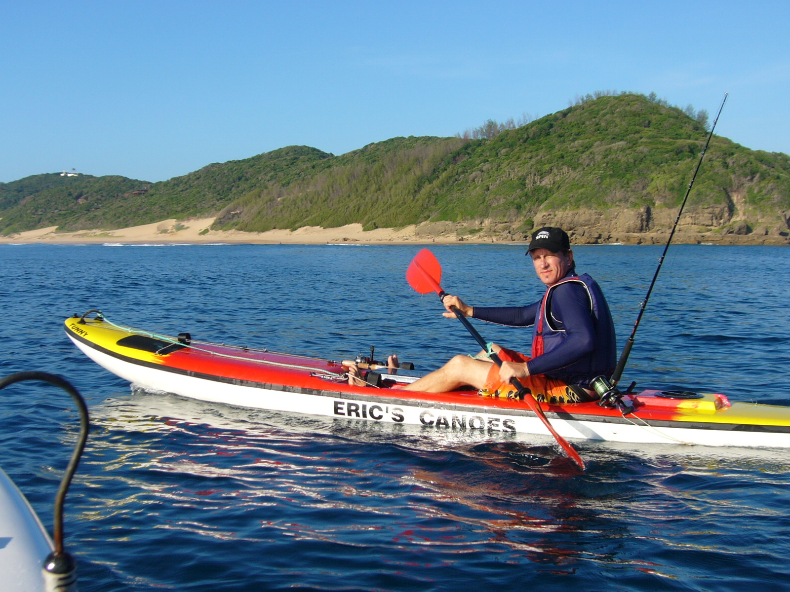 Fishing report south africa august kayak fishing report for Fishing kayak for big guys
