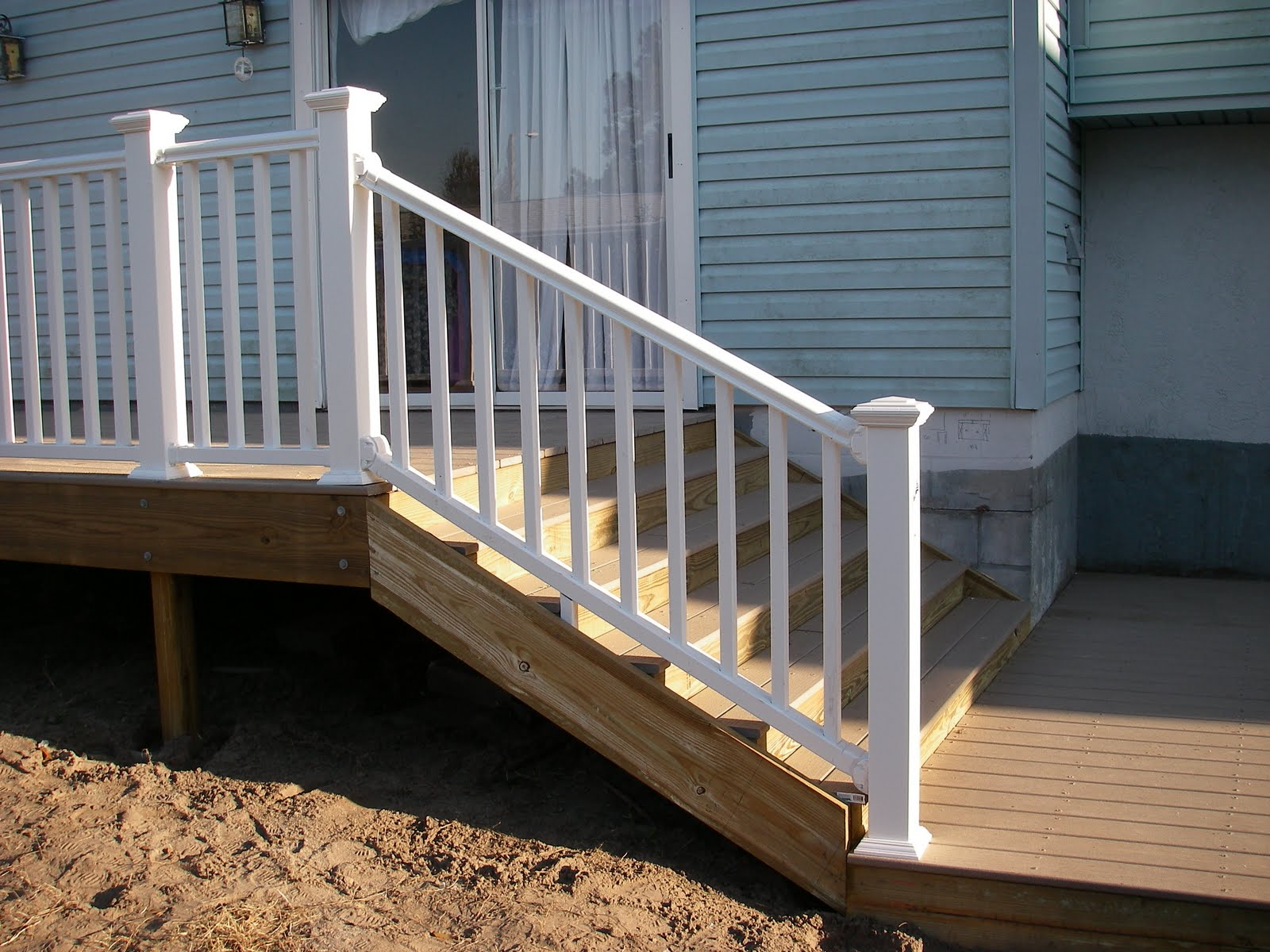 Pvc deck rail music search engine at - Vinyl railing reviews ...