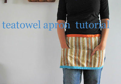 Tea Towel Apron - V and Co.