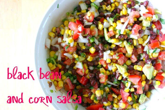 and Co.: recipe: black bean and corn salsa