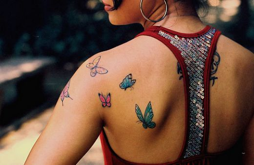 celebrity tattoos Designs, Butterfly Tattoos