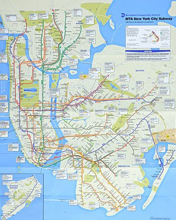 Mta Issues New Nyc Subway Map Joe My God