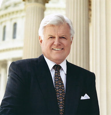 ted kennedy. Ted Kennedy, friend and hero