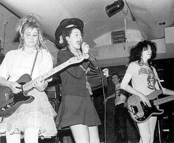 Bikini Kill, when they played London