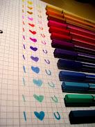 أحبك ...ملونة