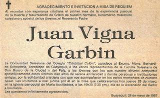 Iinvitación+a+Misa+de+Requiem+y+agradecimiento.+28+de+Mayo+de+1987 ...