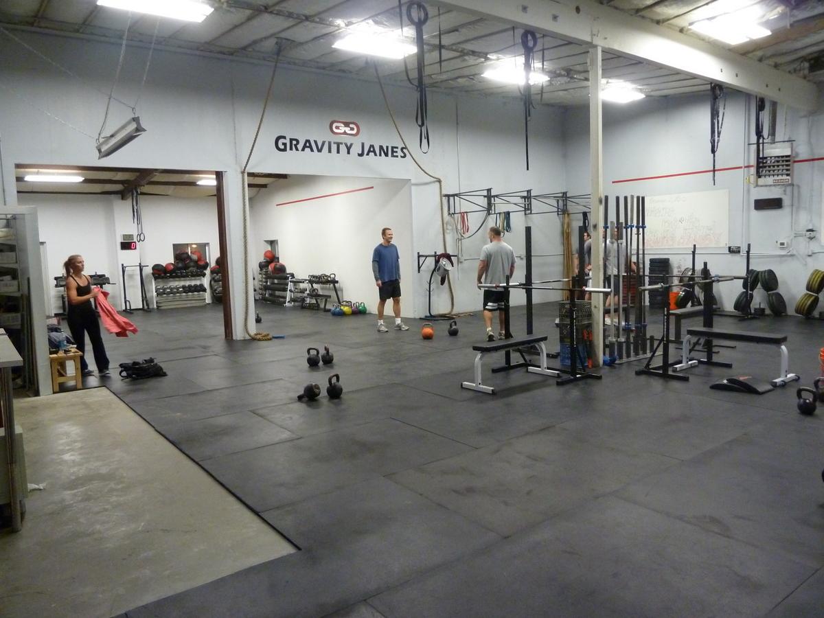 Crossfit gym layout