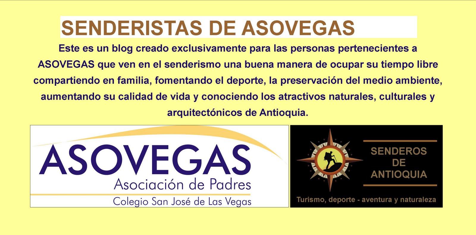 SENDERISTAS DE ASOVEGAS