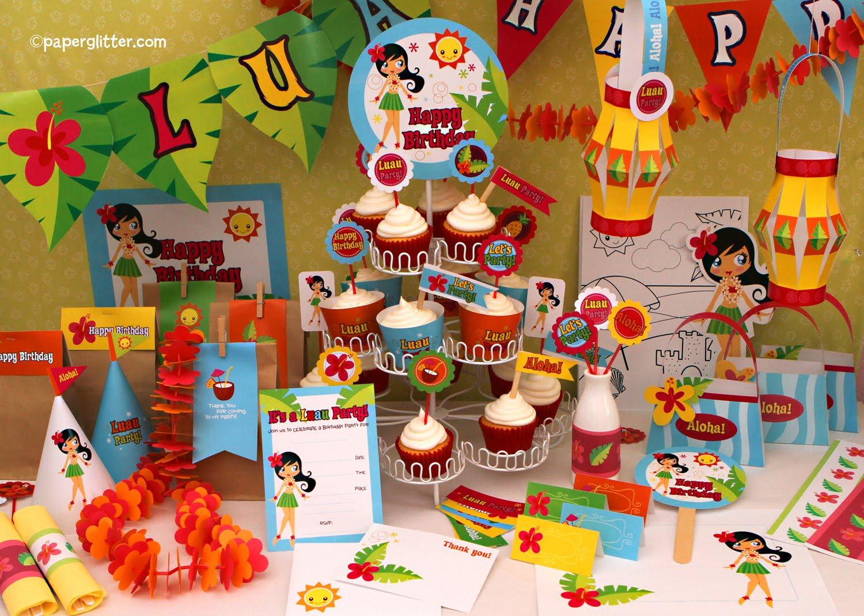 Luau Party Decoration Ideas