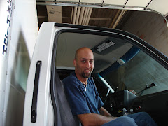 Chris Jackson - part-time truck assistant - God bless 'im!