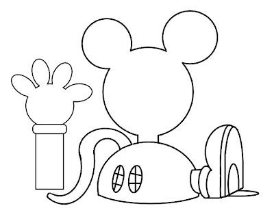 Dibujos De La Casa De Mickey Mouse - Pyme.club