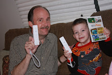 Teaching Grandpa Wii