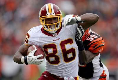 Redskins tight end Fred Davis in action
