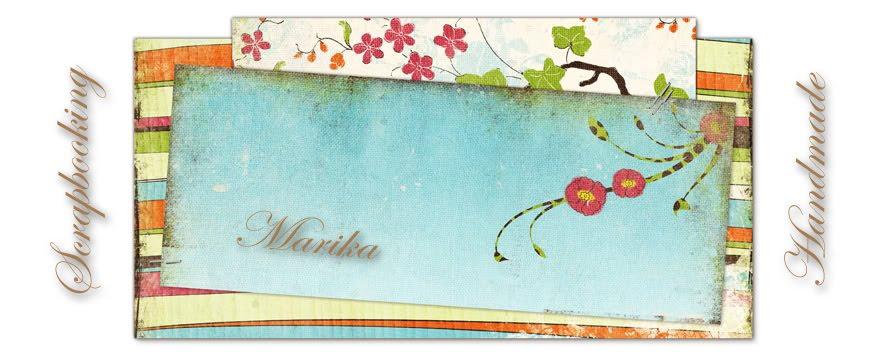 SCRAPBOOKING Marika Handmade