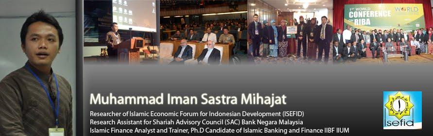 forum perbankan syariah Iman Sastra