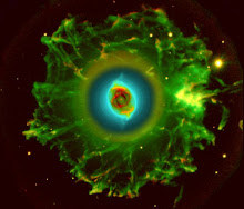 Halo da nebulosa olho de gato