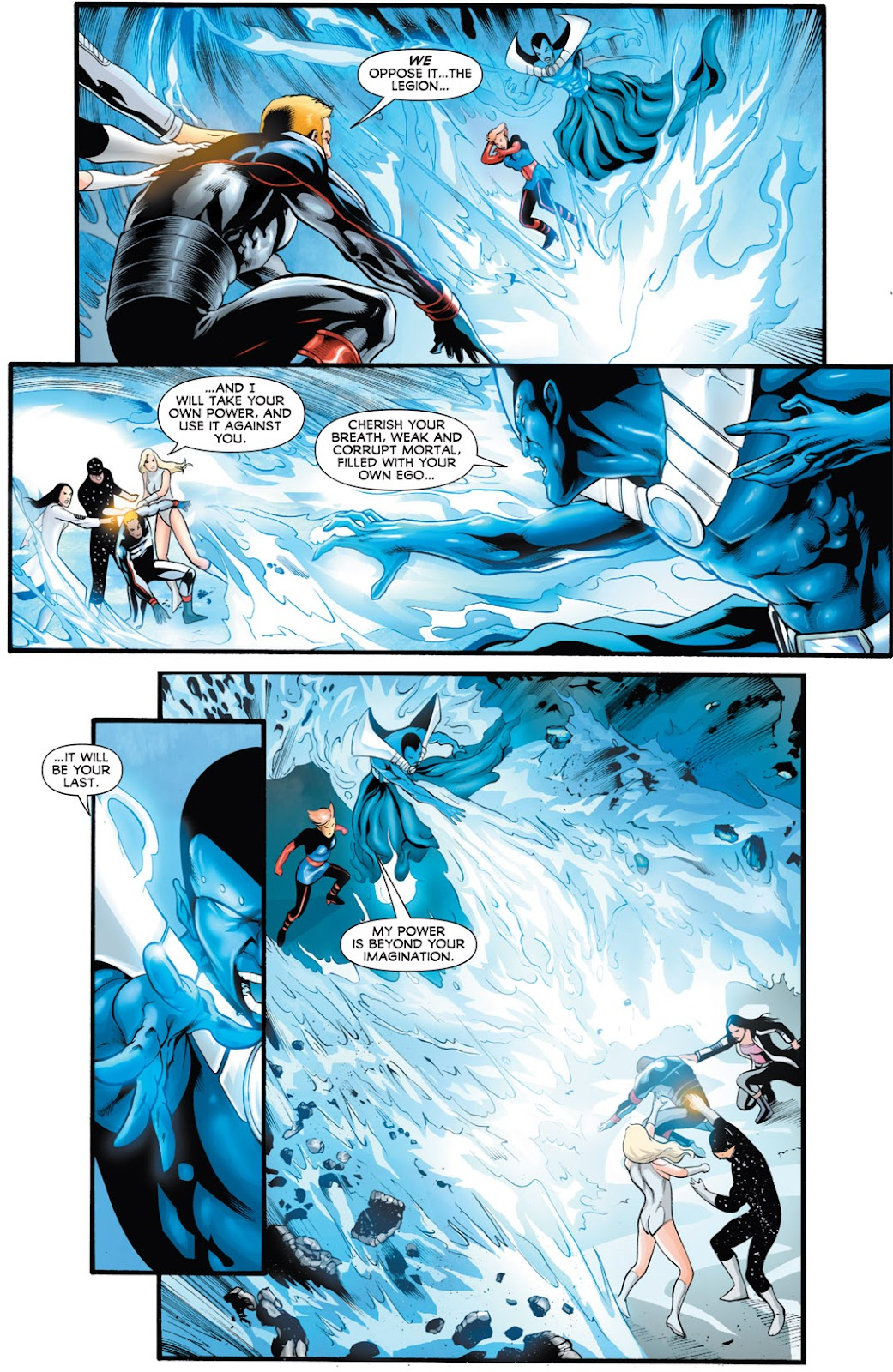 Legion of Super-Heroes (2010) Issue #16 #17 - English 11