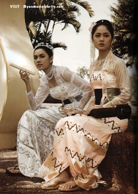 Just Fashion: Traditional Burmese clothing...