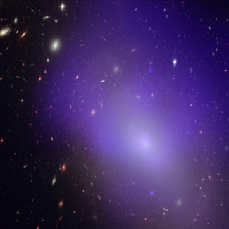 Mysterious web of dark matter found
