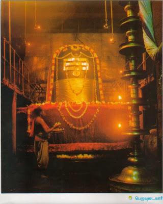 Bana Shivalinga in Brihadeeswara Temple, Thanjavur