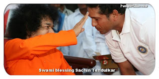 Sachin Tendulkar visits Swami at the Athi Rudra Maha Yagnam at Chennai