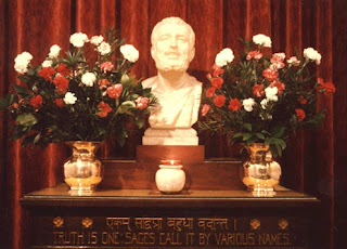 Altar of the Ramakrishna-Vivekananda Center of New York